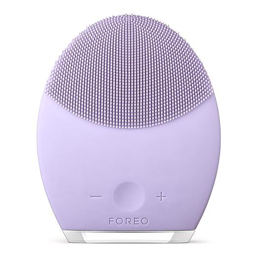 37 opinioni per FOREO LUNA 2 spazzola pulizia viso e trattamento anti età per pelli Sensibili,