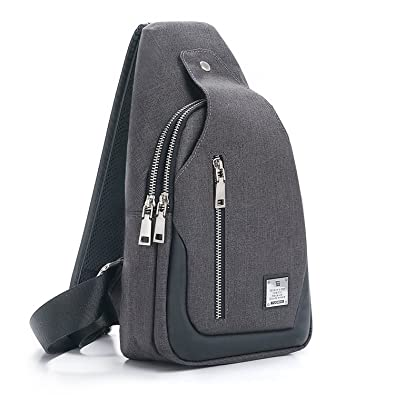 Sling Bag Chest Shoulder Backpack Crossbody Bags for Men Women Travel  Outdoors Business (Small b39480c61fade