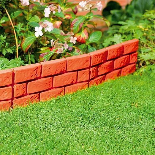 Separador Parkland® Instant efecto ladrillo para jardín : Amazon.es: Jardín