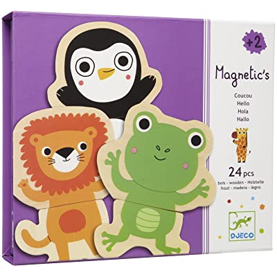 DJECO Coucou Wooden Magnets: Toys & Games [5Bkhe0903025]
