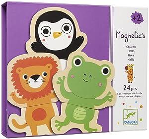 DJECO Cou Cou Jungle Magnetics (24 pc)