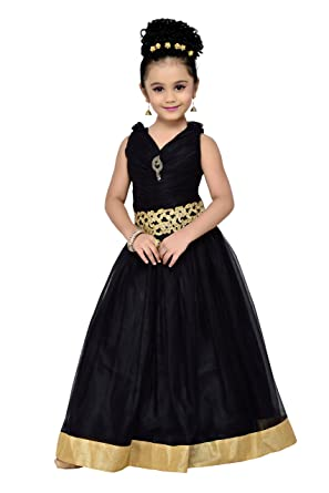 2a75ac8346f83 Amazon.com: ADIVA Girl's Indian Party Wear Gown for Kids: Clothing