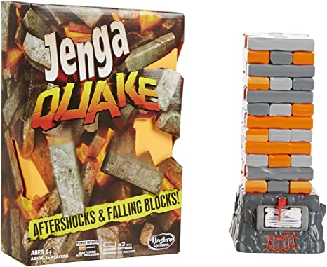Hasbro Gaming - Jenga Quake, Juego de Mesa (A5405EU4): Amazon.es: Juguetes y juegos