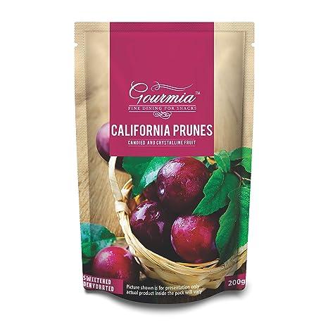 Gourmia Dried California Prunes, 200g