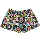 e7178f2c3bea Amazon.com  Confetti and Friends Fuzzy Plush Shorts  Clothing