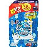 【大容量】トップ スーパーナノックス 洗濯洗剤 液体 涼感クールアイスミントの香り 詰め替え 1160g