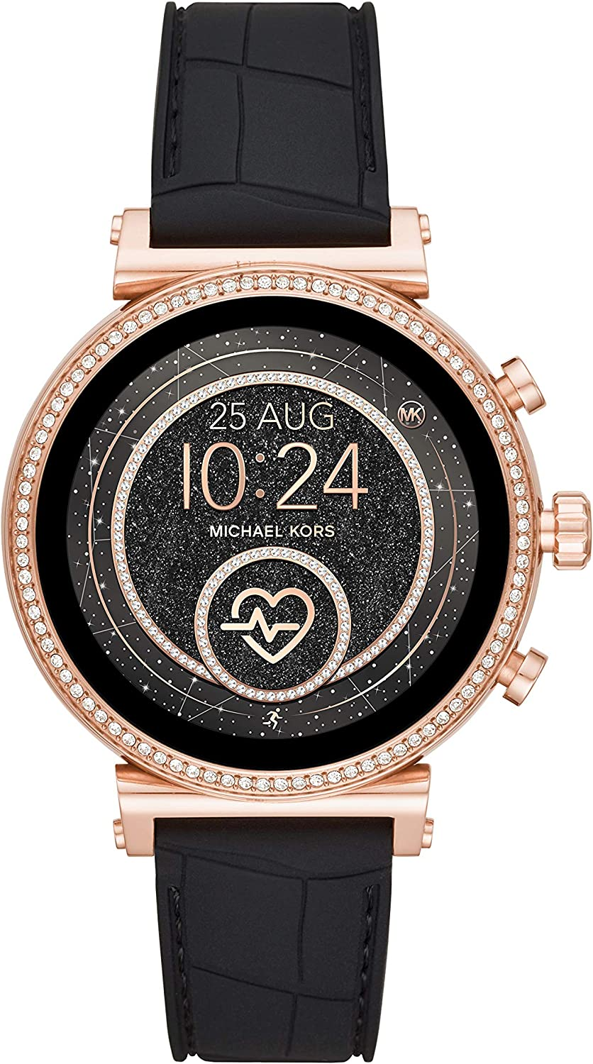 Michael Kors Access Gen 4 Sofie Smartwatch- Powered with Wear OS by Google with Heart Rate, GPS, NFC, and Smartphone Notifications