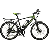 GreenEdge CS2 Electric Mountain Bike inc Mud Guards and Pannier Rack
