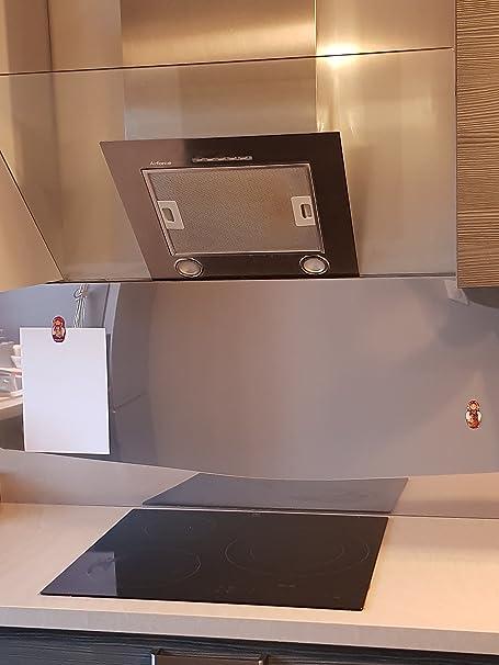 Alucouleur Fond De Hotte Credence Inox Magnetique 8 Tailles Hauteur 60 Cm X Longueur 60 Cm Amazon Fr Cuisine Maison