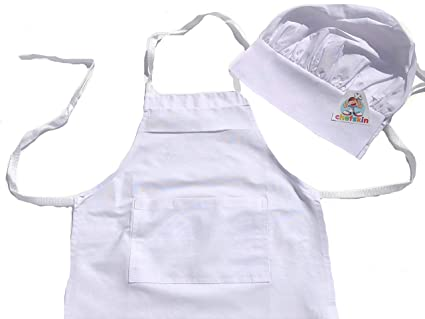 7dfc94081f626 Image Unavailable. Image not available for. Colour  Chefskin Baby Toddler  Set Apron + Hat ...