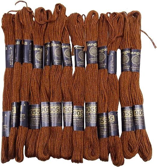 IBA Indianbeautifulart 25 Piezas de algodón del Hilo de Coser ...
