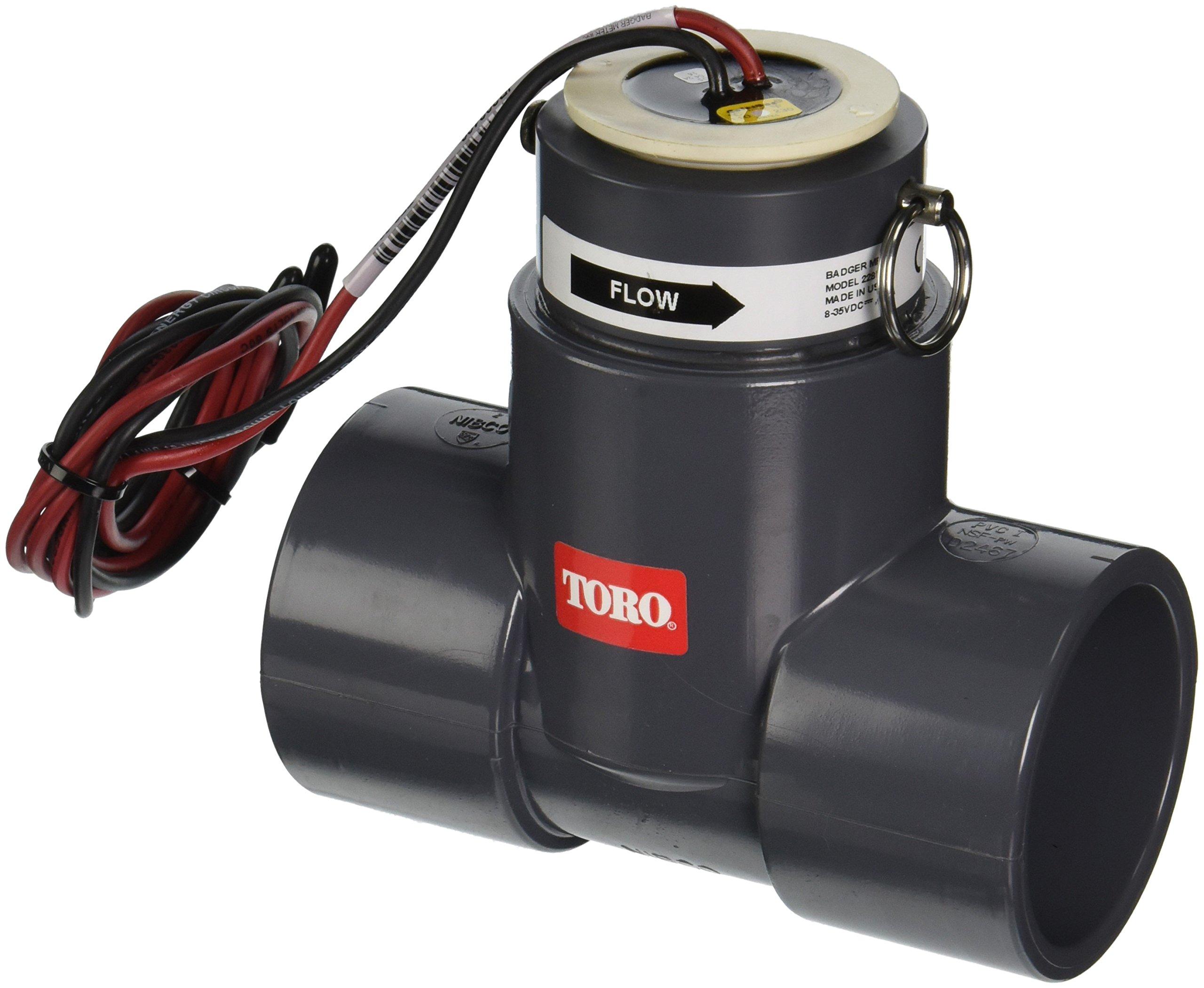 Toro Plastic Tee TFS-200 Flow Sensor, 2''