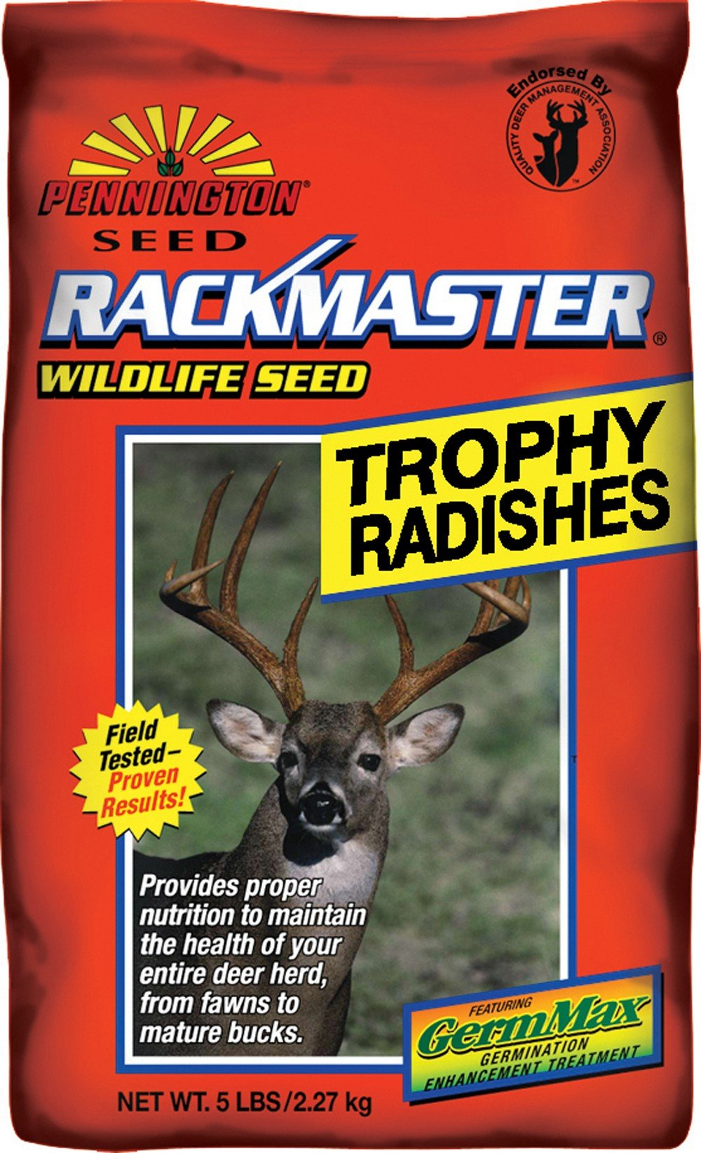 Pennington Rackmaster Trophy Radish 5 Lb by Pennington