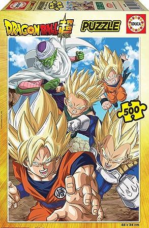 Educa Borras Puzzle Dragon Ball 500 Piezas (18216): Amazon.es ...