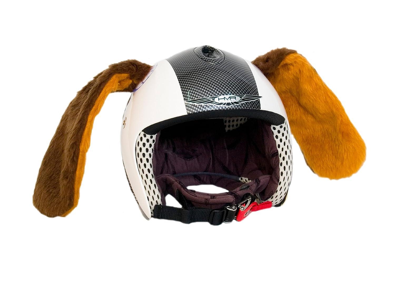 Peter el perro. Adherido al casco de deporte. Accesorio: Amazon.es: Deportes y aire libre