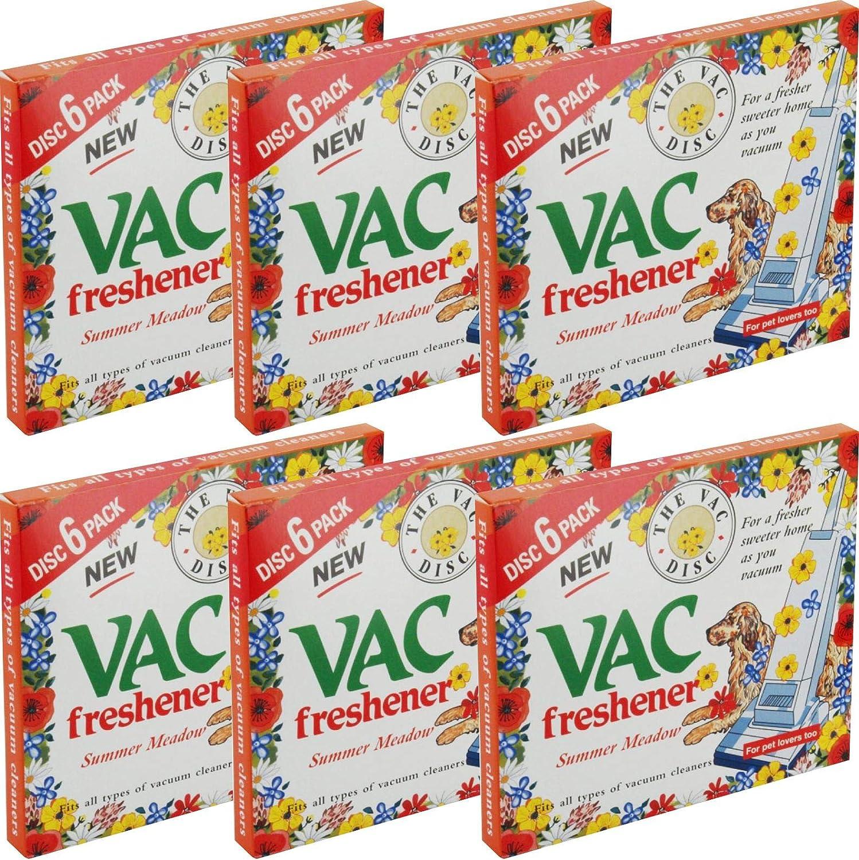 6 x Paquetes de Nueva Vac Disco Ambientador para todas las ...