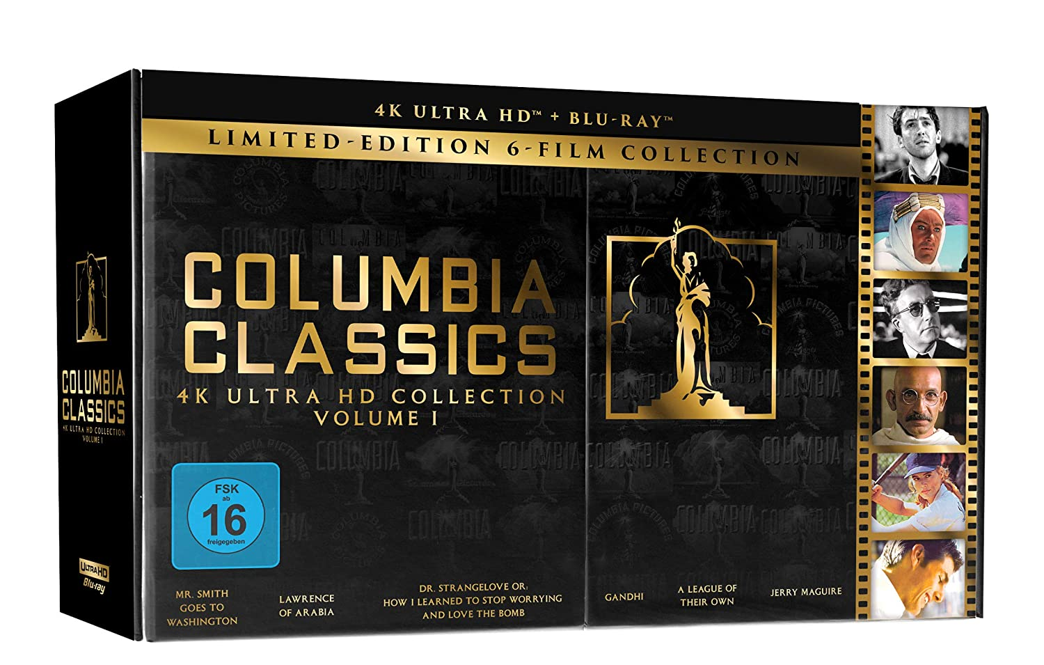 Columbia Classic Collection Box -Exklusiv bei Amazon.de [Blu-ray] [Alemania]