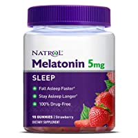Natrol Melatonin 5mg Gummy, 90 Count
