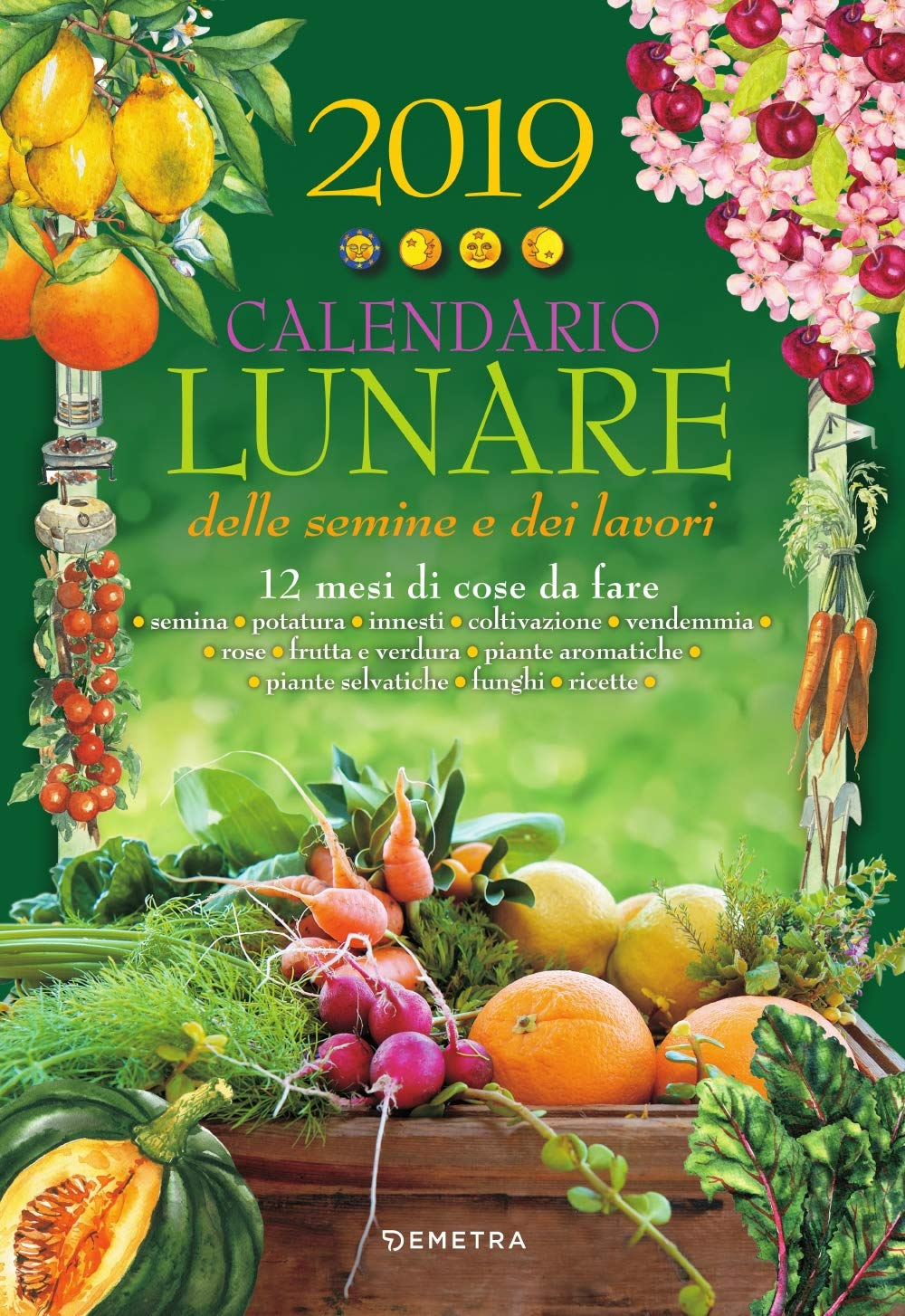 Calendario Lunare Marzo.Amazon It Calendario Lunare 2019 Aa Vv Libri
