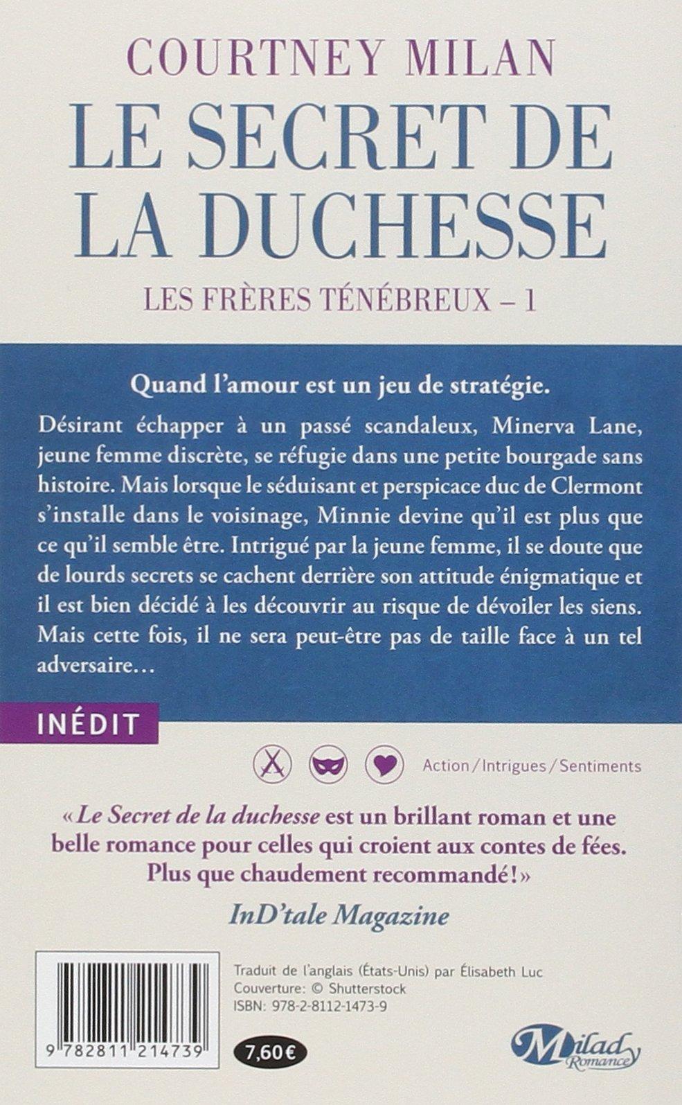 Secret De Tome La Duchesse Le 1 Frères Les Ténébreux Yqw1qA