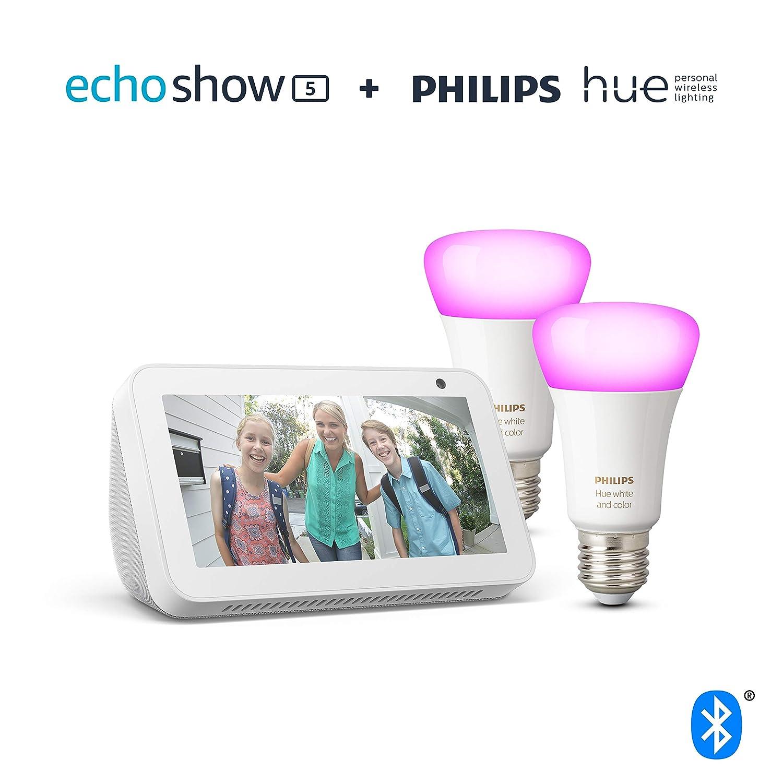 Echo Show 5 TP-Link HS100 Smarte WLAN Steckdose funktioniert mit Alexa Wei/ß