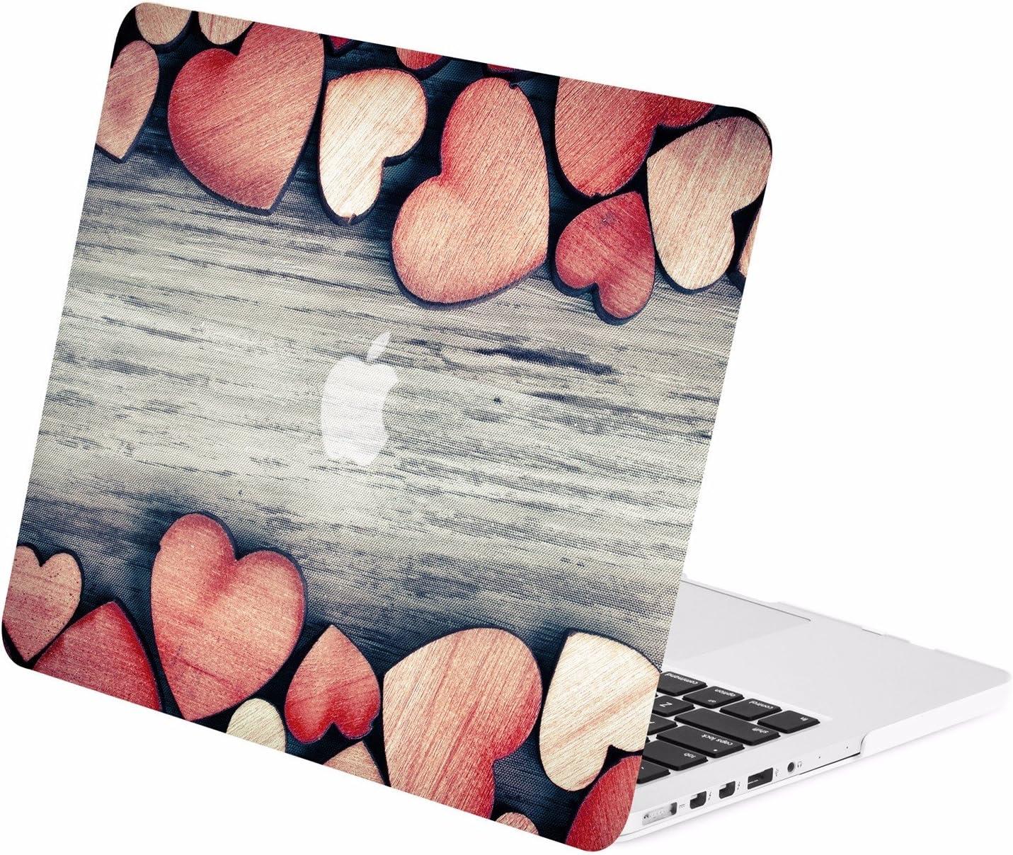 TOP CASE - Autumn Spectrum Graphic Rubberized Hard Case Compatible MacBook Pro 13