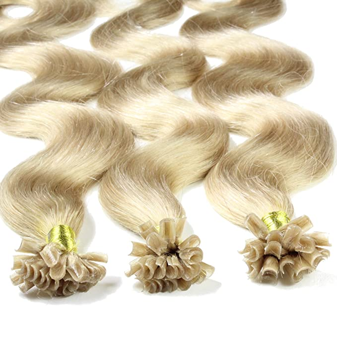 Just Beautiful Hair 200 x 0,8g Extensiones de Queratina - 40cm - Corrugado, Colore #20 Cenicienta es Rubia: Amazon.es: Belleza