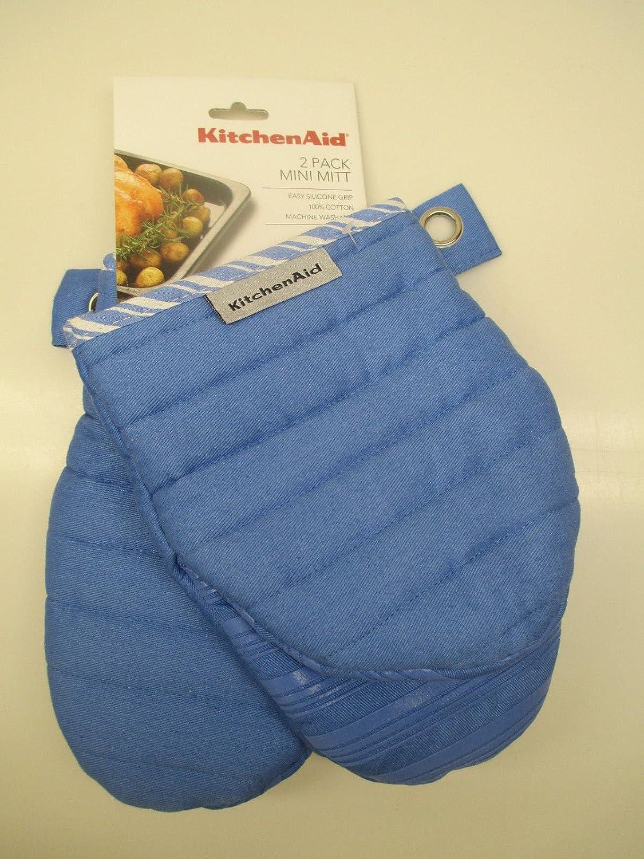 KitchenAid 2 Cornflower Blue Mini mitt