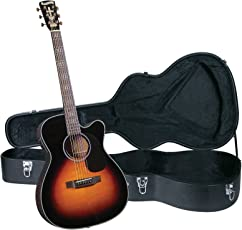 Blueridge BR-343CE Contemporary Series Gospel Cutaway Acoustic-Electric 000 Guitar with Hardshell Case