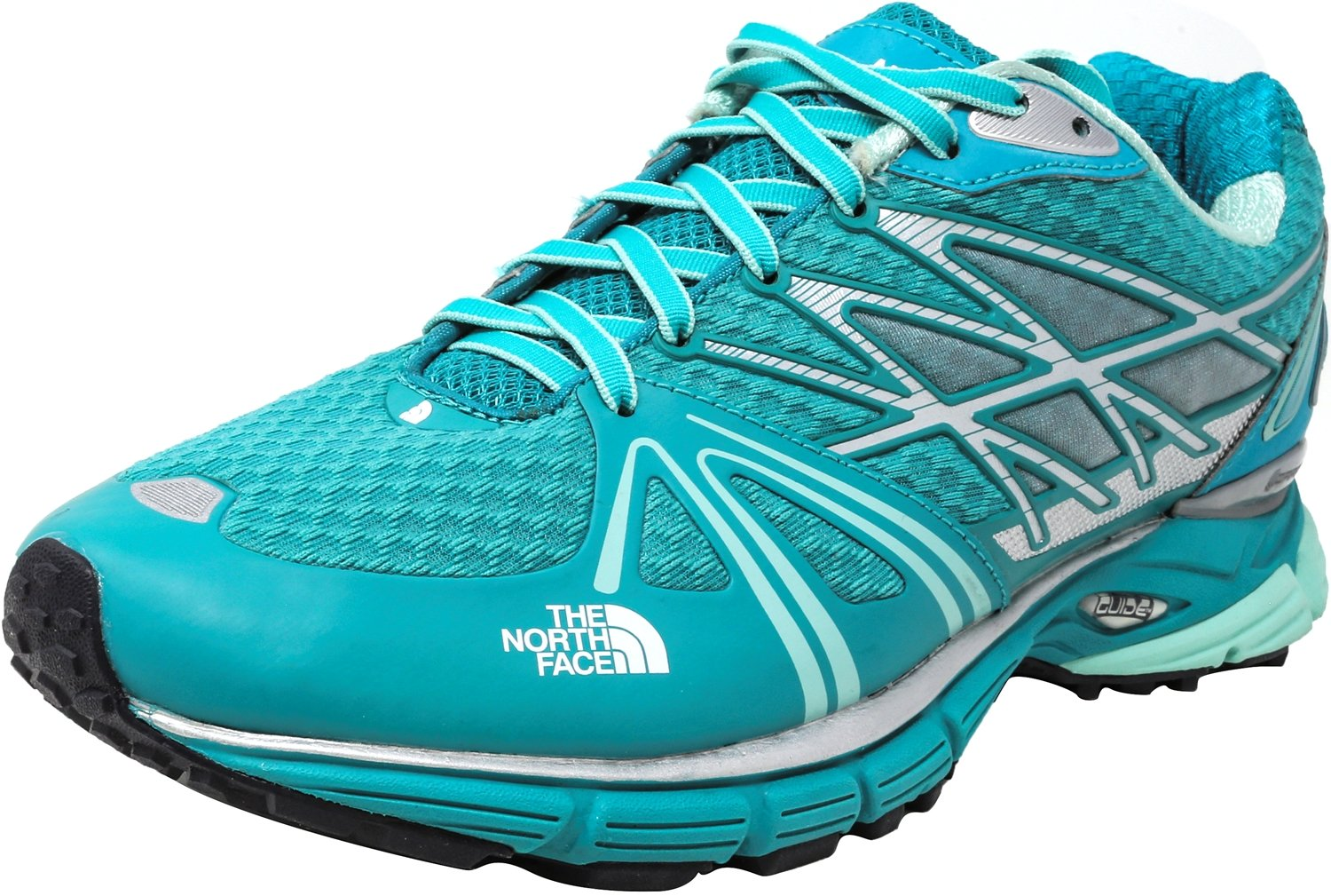 The North Face Women's Ultra Equity Jaiden Green/Beach Glass Ankle-High Running Shoe - 10.5M