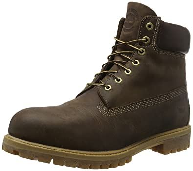 Timberland Herren Heritage 6 Inch Premium Stiefel, Braun (Brown), 42 EU
