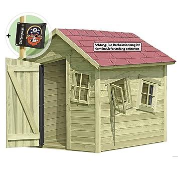 Gartenpirat Spielhaus Marie Fun aus Holz Gartenhaus für Kinder