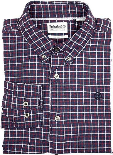 Timberland - Camisa de manga larga para hombre con botones ...