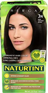 Naturtint, Hair Color Permanent Dark Chestnut Brown 3N, 5.6 Fl Oz