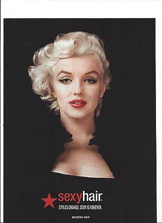 Marilyn monroe big sexy hair