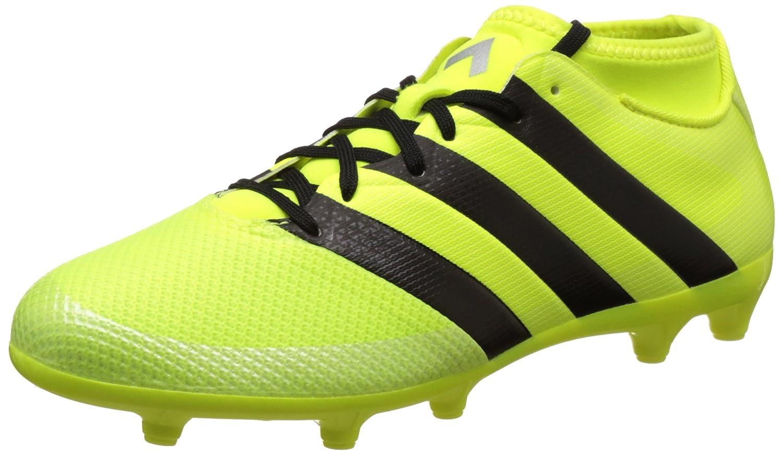 adidas Herren Ace 16.3 Primemesh FG/AG Fuszlig;ballschuhe  46 2/3 EU|Gelb (Solar Yellow/Core Black/Silver Metallic)