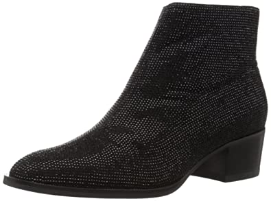 Amazon.com | Lola Cruz Women's Low Heel Ankle Boot | Ankle & Bootie