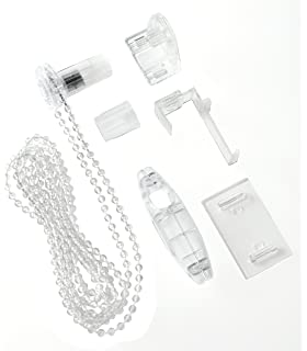 glasklar Gardinia Wendestabverlängerung Kunststoff