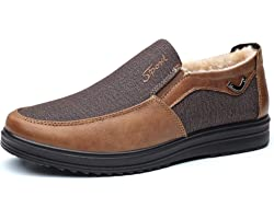 COSIDRAM Mens Loafer Casual Shoes Comfort Lightweight Driving Travel Walking Shoes for Adult Male