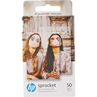 "HP Sprocket Zink Photo Paper (1RF42A) Sticky-backed 2"" x 3"" (5 x 7.6-cm) 50 Sheet Pack"