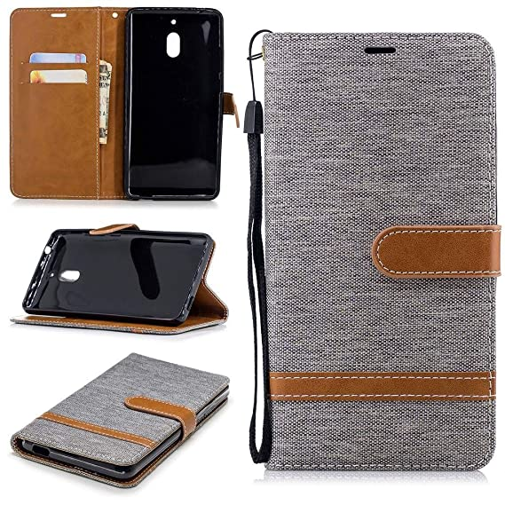Cases, Covers & Skins For Nokia 2 New Stylish Premium Leather Wallet Phone Stand Case Cover