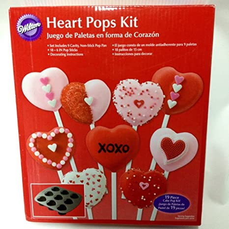 Wilton - Heart Pops Kit - Pan & Sticks