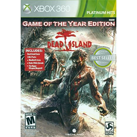 Amazon Com Dead Island Game Of The Year Edition Xbox 360