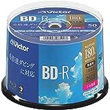ビクター(Victor) 1回録画用 BD-R VBR130RP50SJ1 (片面1層/1-6倍速/50枚)