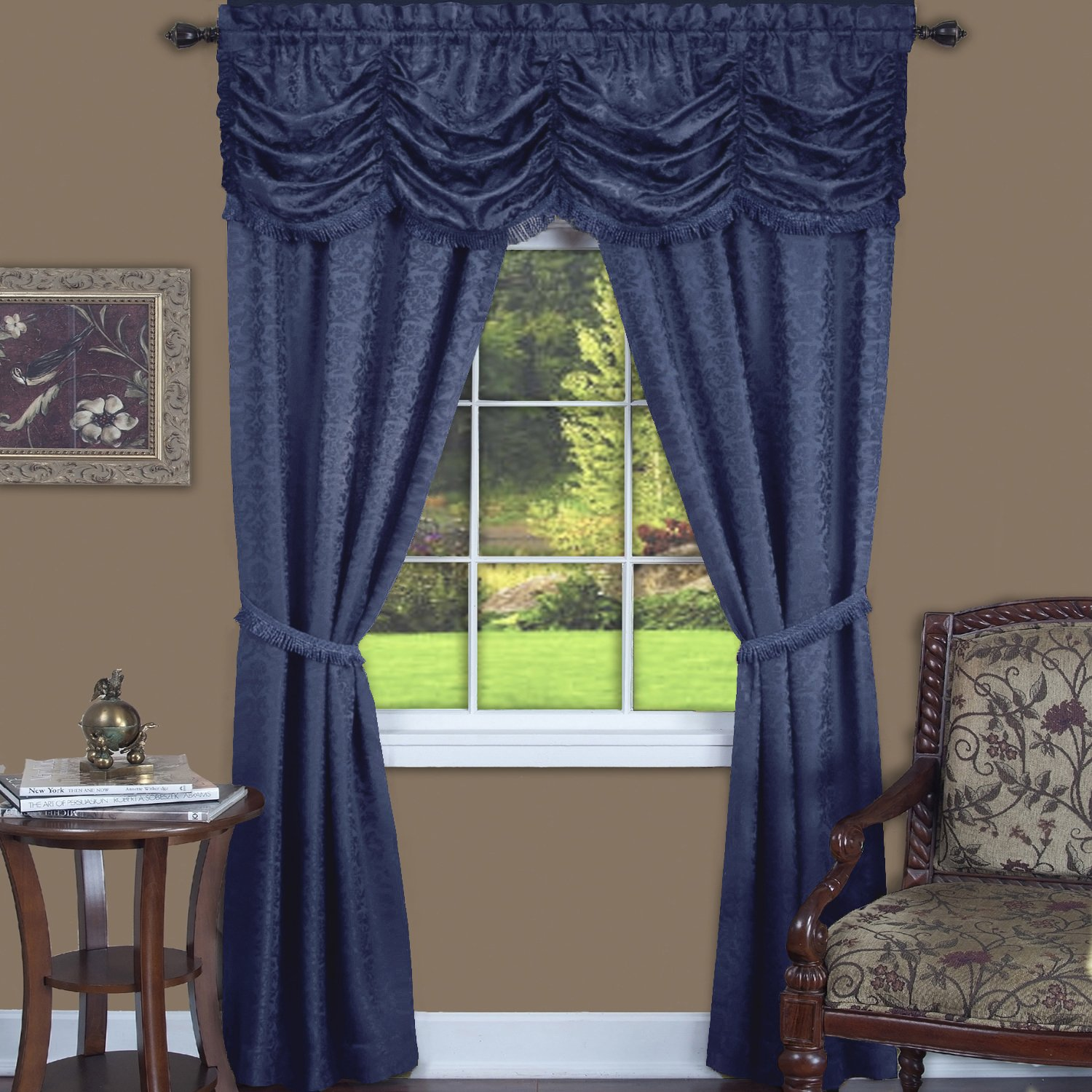 of coffee curtains off curtain long home set door fancy sazz valance on feet p brown