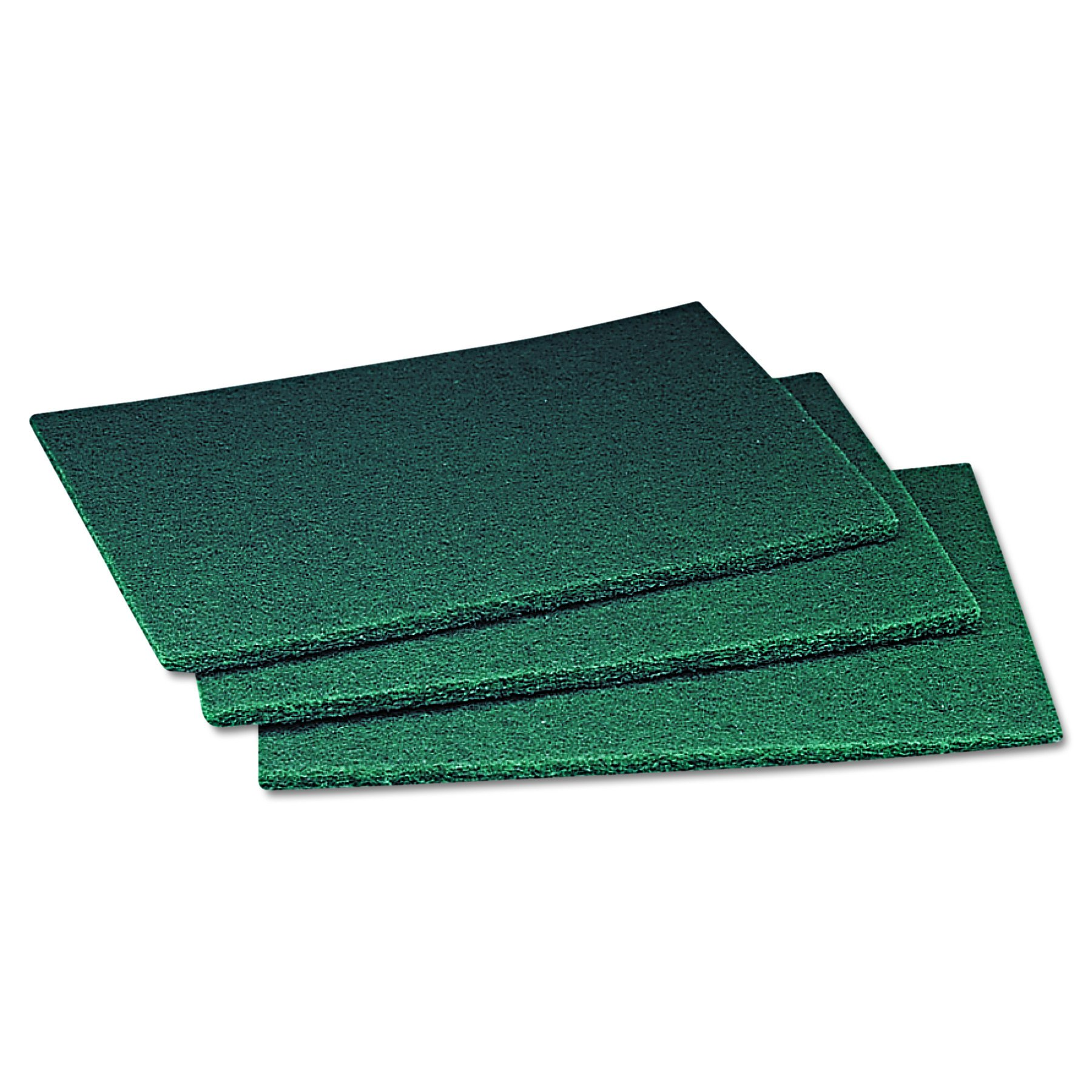 Scotch-Brite PROFESSIONAL 08293 Commercial Scouring Pad, 6 x 9 (Case of 60)