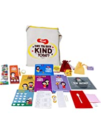 Toiing Yours Kindly - Experiential Learning Kit with 15 Activities for 5-10 Year Old Kids to Develop Empathy and Kindness