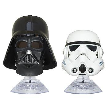 Star Wars: El Imperio Contraataca negro serie titanio serie Darth Vader y Stormtrooper