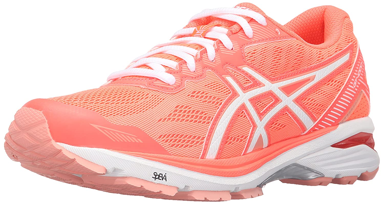 ASICS Women's Gt-1000 5 Running Shoe B017USMX1S 8.5 B(M) US|Flash Coral/White/Peach Melba