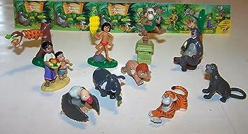 Dschungelbuch  4 Figuren Bully Mogli Baghira Shanti Elefant  76107
